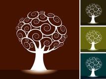 Ambiti di provenienza dell'albero Fotografie Stock