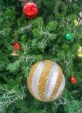 Ambiti di provenienza dell'albero di Natale fotografia stock libera da diritti