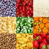 Ambiti di provenienza dell'alimento Immagini Stock Libere da Diritti
