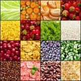 Ambiti di provenienza dell'alimento Fotografia Stock Libera da Diritti
