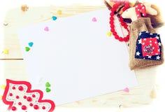 Ambiti di provenienza della cartolina di Natale Immagine Stock Libera da Diritti