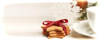 Ambiti di provenienza della cartolina di Natale Immagini Stock
