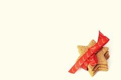 Ambiti di provenienza della cartolina di Natale Fotografie Stock Libere da Diritti