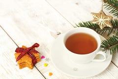 Ambiti di provenienza della cartolina di Natale Fotografie Stock
