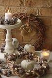 Ambiti di provenienza della decorazione di Natale Immagine Stock