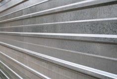 Ambiti di provenienza della parete del metallo Fotografia Stock Libera da Diritti