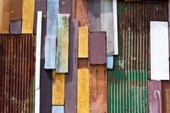 Ambiti di provenienza della parete di legno Fotografia Stock Libera da Diritti