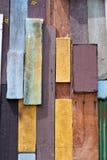 Ambiti di provenienza della parete di legno Fotografie Stock