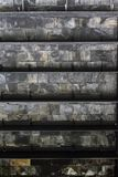 Ambiti di provenienza della parete in un castello Immagini Stock Libere da Diritti