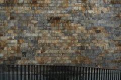 Ambiti di provenienza della parete in un castello Fotografie Stock