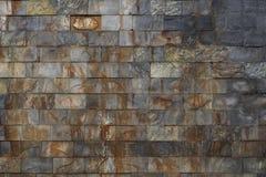 Ambiti di provenienza della parete in un castello Immagini Stock