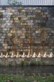 Ambiti di provenienza della parete in un castello Fotografia Stock Libera da Diritti