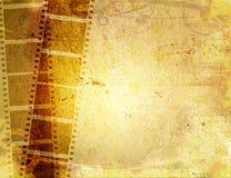 Ambiti di provenienza della striscia della pellicola di Grunge Fotografia Stock Libera da Diritti