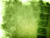 Ambiti di provenienza della striscia della pellicola di Grunge royalty illustrazione gratis