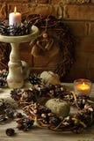 Ambiti di provenienza 2017 delle decorazioni di Natale Fotografia Stock Libera da Diritti