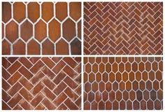 Ambiti di provenienza delle piastrelle di ceramica Fotografia Stock