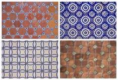 Ambiti di provenienza delle piastrelle di ceramica Immagini Stock Libere da Diritti