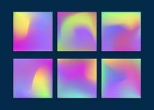 Ambiti di provenienza di colori del liquido messi Applicabile per l'insegna, copertura, aletta di filatoio, opuscolo, carta da pa Fotografie Stock Libere da Diritti