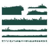 Ambiti di provenienza di erba verde Fotografia Stock Libera da Diritti