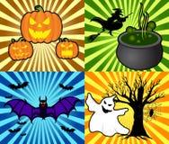 Ambiti di provenienza di Halloween Fotografia Stock