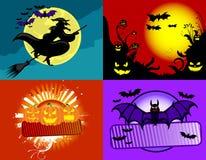 Ambiti di provenienza di Halloween Fotografia Stock Libera da Diritti