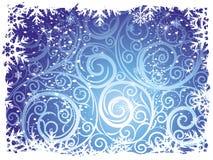 Ambiti di provenienza di inverno Fotografie Stock