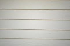 Ambiti di provenienza di legno bianchi della parete Immagini Stock
