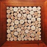 Ambiti di provenienza di legno dei libri macchina Immagini Stock