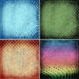 Ambiti di provenienza di lerciume con i cerchi illustrazione vettoriale