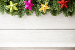 Ambiti di provenienza di Natale. Fotografie Stock