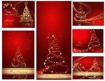 Ambiti di provenienza di nuovo anno felice Fotografie Stock