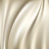 Ambiti di provenienza di seta bianchi Immagini Stock