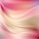 Ambiti di provenienza di seta rosa Fotografie Stock