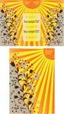 Ambiti di provenienza di Sun royalty illustrazione gratis