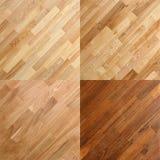 Ambiti di provenienza di superficie di legno della plancia del pavimento di parchè Fotografie Stock Libere da Diritti