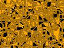 Ambiti di provenienza digitali astratti futuristici di schema Fotografia Stock Libera da Diritti