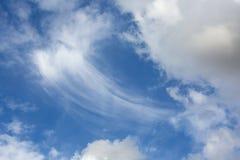 Ambiti di provenienza drammatici dei cieli nuvolosi Fotografia Stock Libera da Diritti