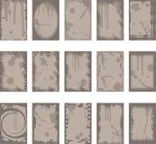 Ambiti di provenienza e bordi di Grunge Fotografia Stock