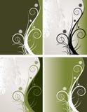 Ambiti di provenienza floreali   illustrazione vettoriale