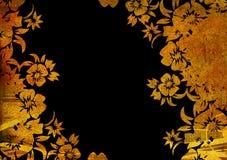 Ambiti di provenienza floreali di stile Immagini Stock