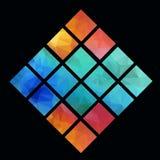 Ambiti di provenienza geometrici astratti Fotografie Stock