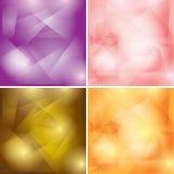 Ambiti di provenienza geometrici colorati estratto Royalty Illustrazione gratis