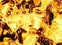 Ambiti di provenienza luminosi dell'istantaneo di esplosione di scoppio del fuoco Immagini Stock