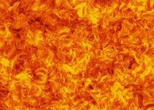 Ambiti di provenienza luminosi di scoppio del fuoco di esplosione Immagine Stock