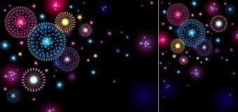 Fuochi d'artificio di festa Fotografia Stock Libera da Diritti