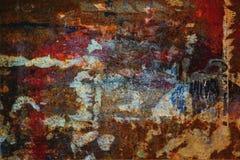Ambiti di provenienza sporchi della parete Fotografia Stock Libera da Diritti