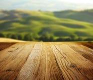 Ambiti di provenienza strutturati di legno Fotografia Stock