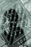 Ambiti di provenienza urbani della città Fotografia Stock Libera da Diritti