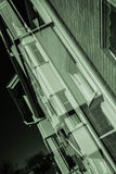 Ambiti di provenienza urbani della città Immagini Stock