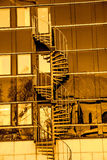 Ambiti di provenienza urbani della città Immagine Stock Libera da Diritti
